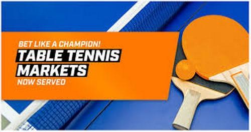 آموزش شرط بندی تنیس روی میز