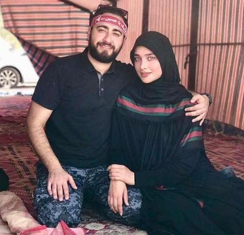 آناشید حسینی همسر امیر حسین مرادیان
