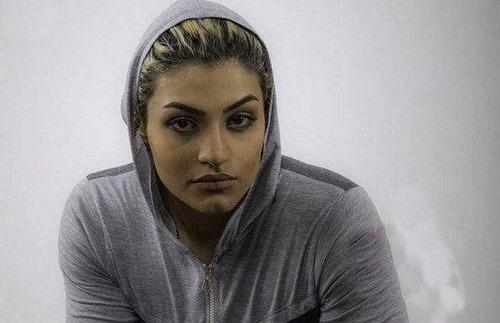 عکس صدف خادم بوکسور ایرانی